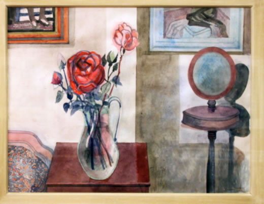 The Rose and The Shaving Mirror