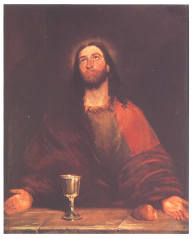 Christ Blessing the Bread and Wine